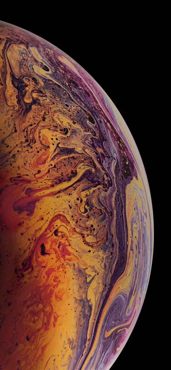 iPhone XS气泡壁纸分享:静态+动态