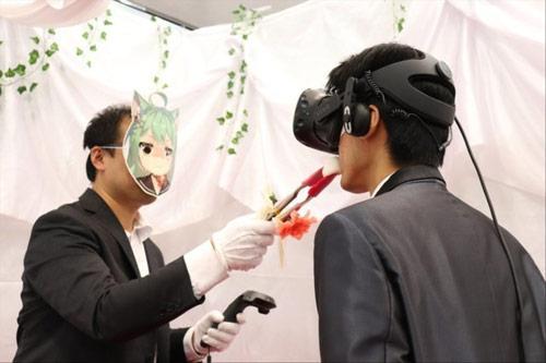 《碧蓝航线》VR婚礼,深情一吻挚爱万年...