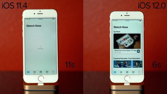 iOS 12能拯救旧机型?对比实测告诉你
