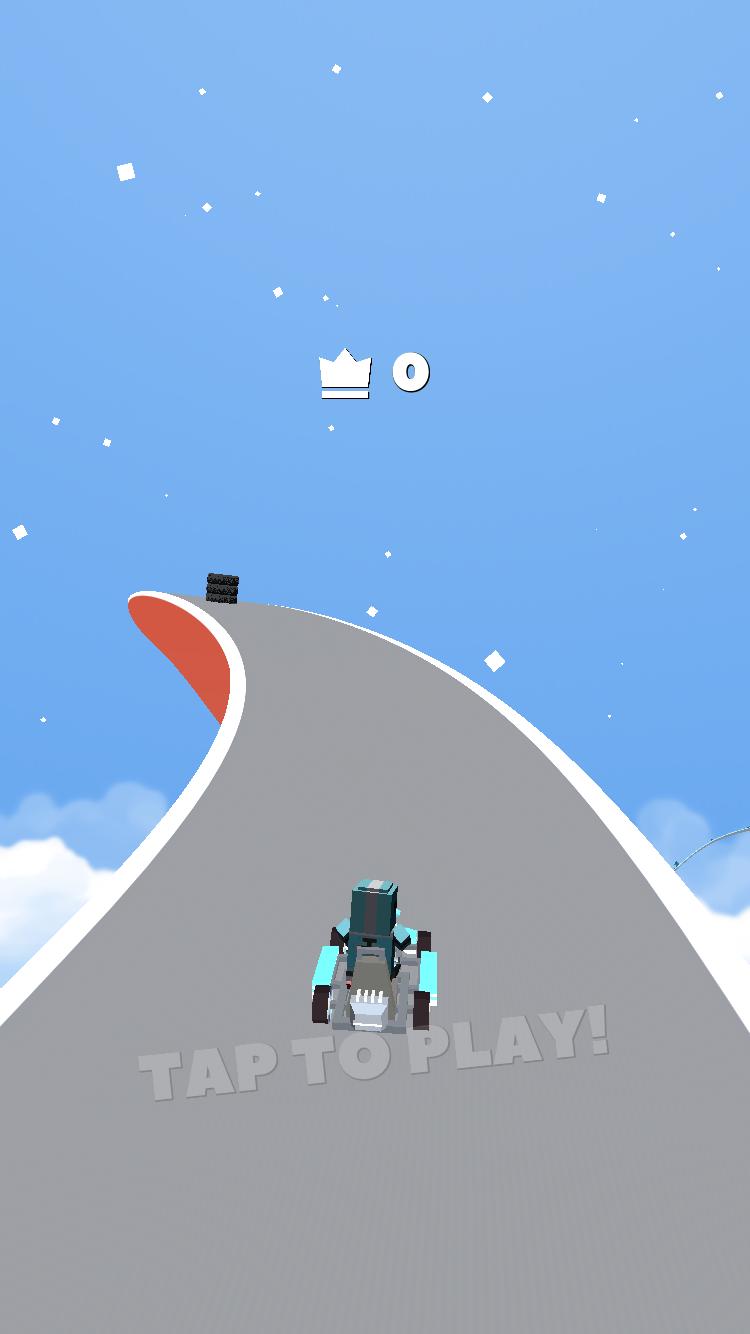 在无限的高空赛道上竞速 Crash Out试玩