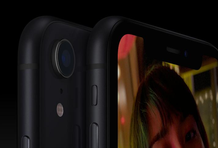 iPhone XR 包含人像模式,基本上通过算法来实现