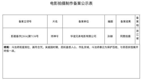 瑰丽奇异的东方奇幻世界——《阴阳师》电影确认开拍,陈坤主演