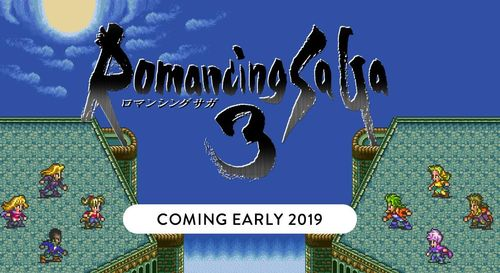 SquareEnix《浪漫沙加》系列将推两款新作