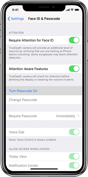 iPhone XS/XS Max 如何设置密码?| 提示「无法更改密码」怎么办?