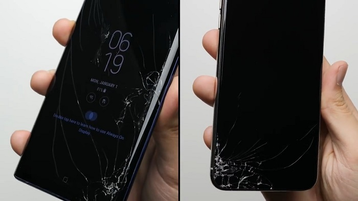 两大旗舰跌落测试:iPhone XS Max屏幕玻璃比三星Galaxy Note 9强