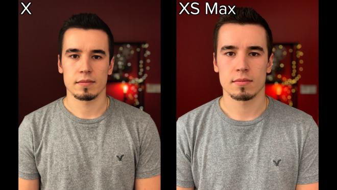 iPhone XS/XS Max对自拍做了什么?