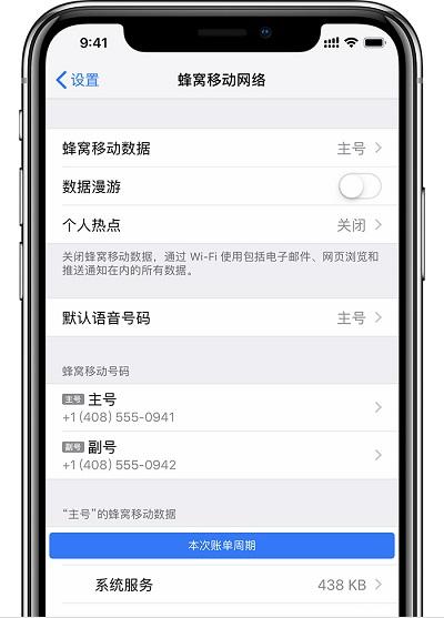 iPhone XS Max 无法使用互联网套餐免流服务的解决方法