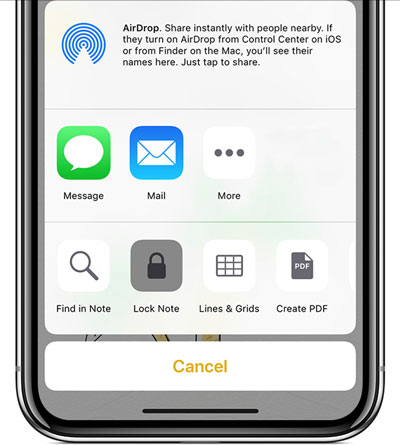 iPhone XS Max「备忘录」进阶技巧:如何锁定备忘录及云端同步