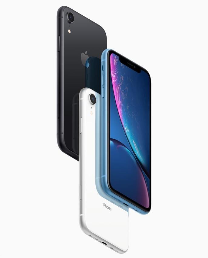 iPhone XR正式开卖:搭载A12处理器,售价6499元起