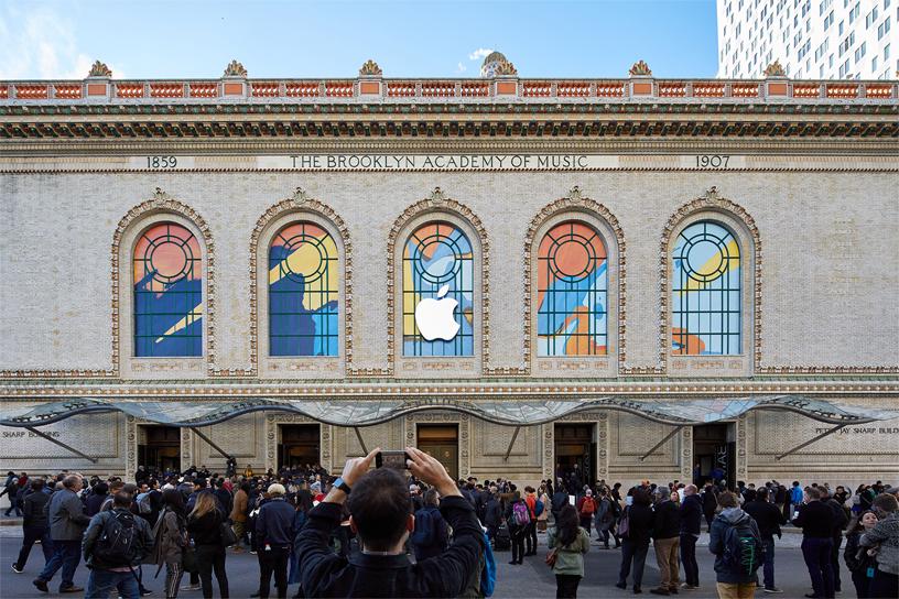 精彩时刻重现:苹果分享新品发布会照片
