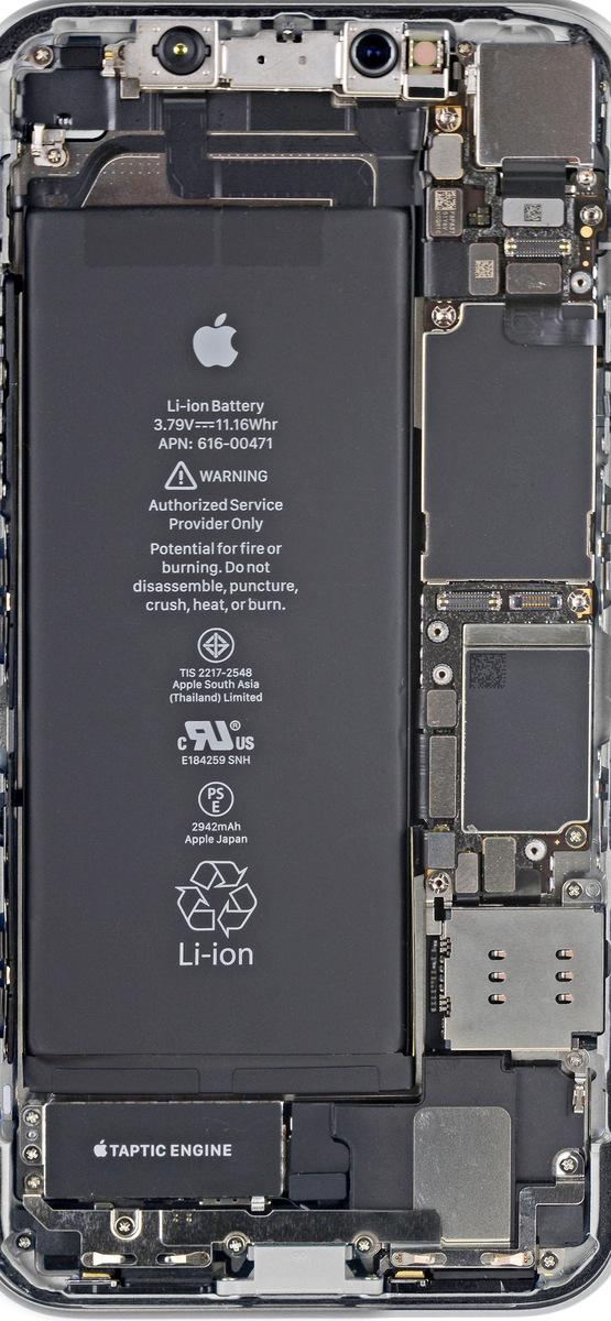 iFixit分享苹果iPhone XR/XS内部结构壁纸