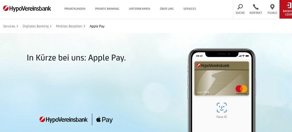 Apple Pay 正式上线德国
