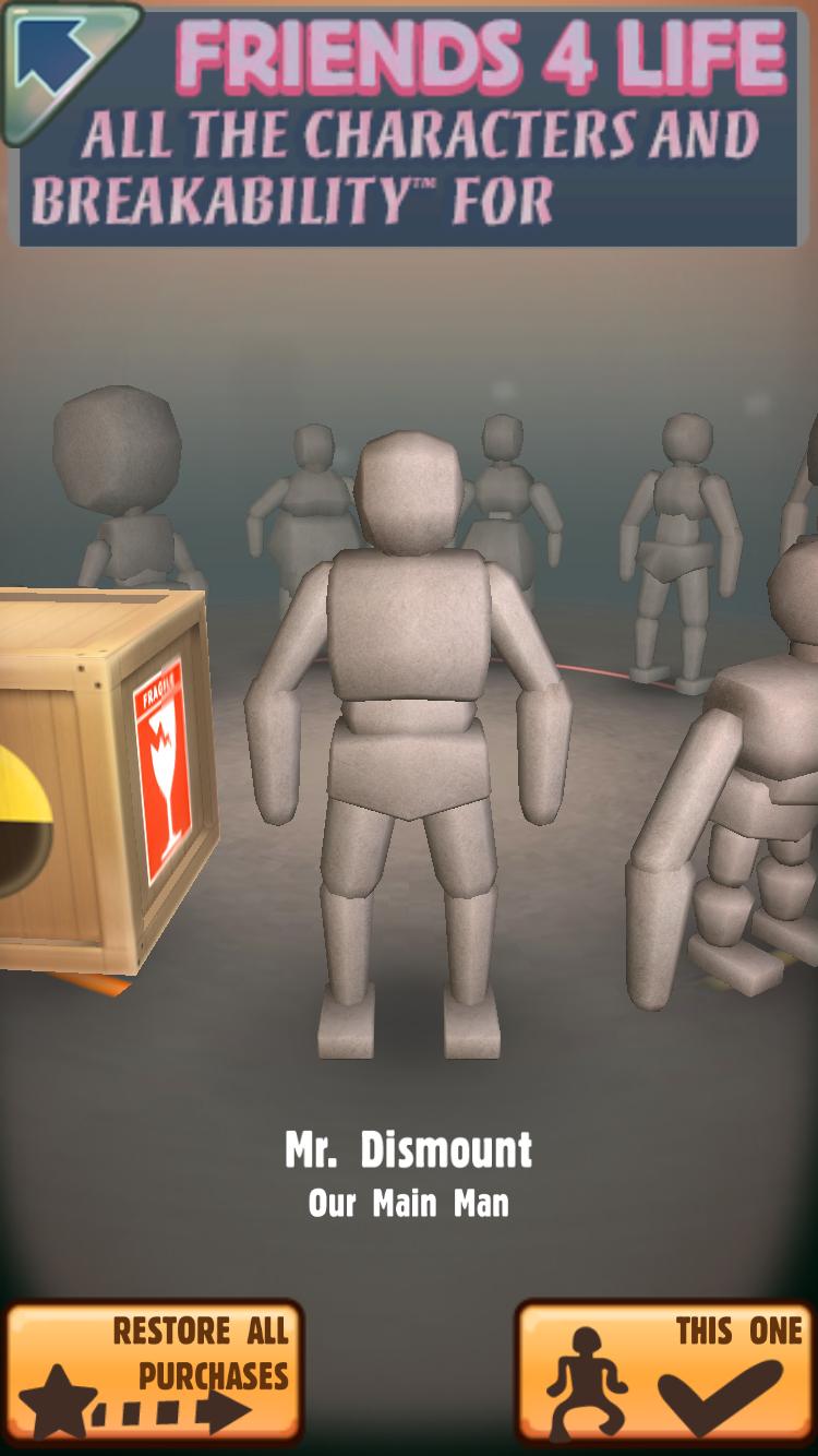 丧心病狂的魔性宣泄游戏 Dismount手游试玩
