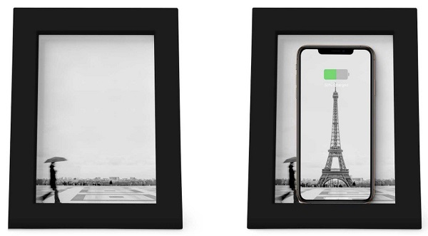TweIve South 为 iPhone 发布 PowerPic 木制相框无线充电器