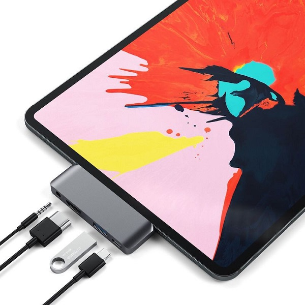 Satechi 发布 iPad Pro 高性能扩展坞:4K HDMI、耳机孔、USB-A