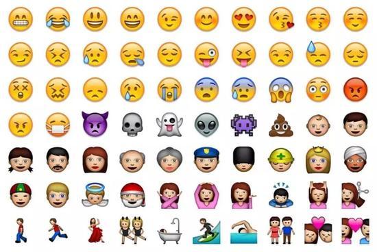 苹果emoji表情十岁了,来看看它们诞生至今有哪些变化