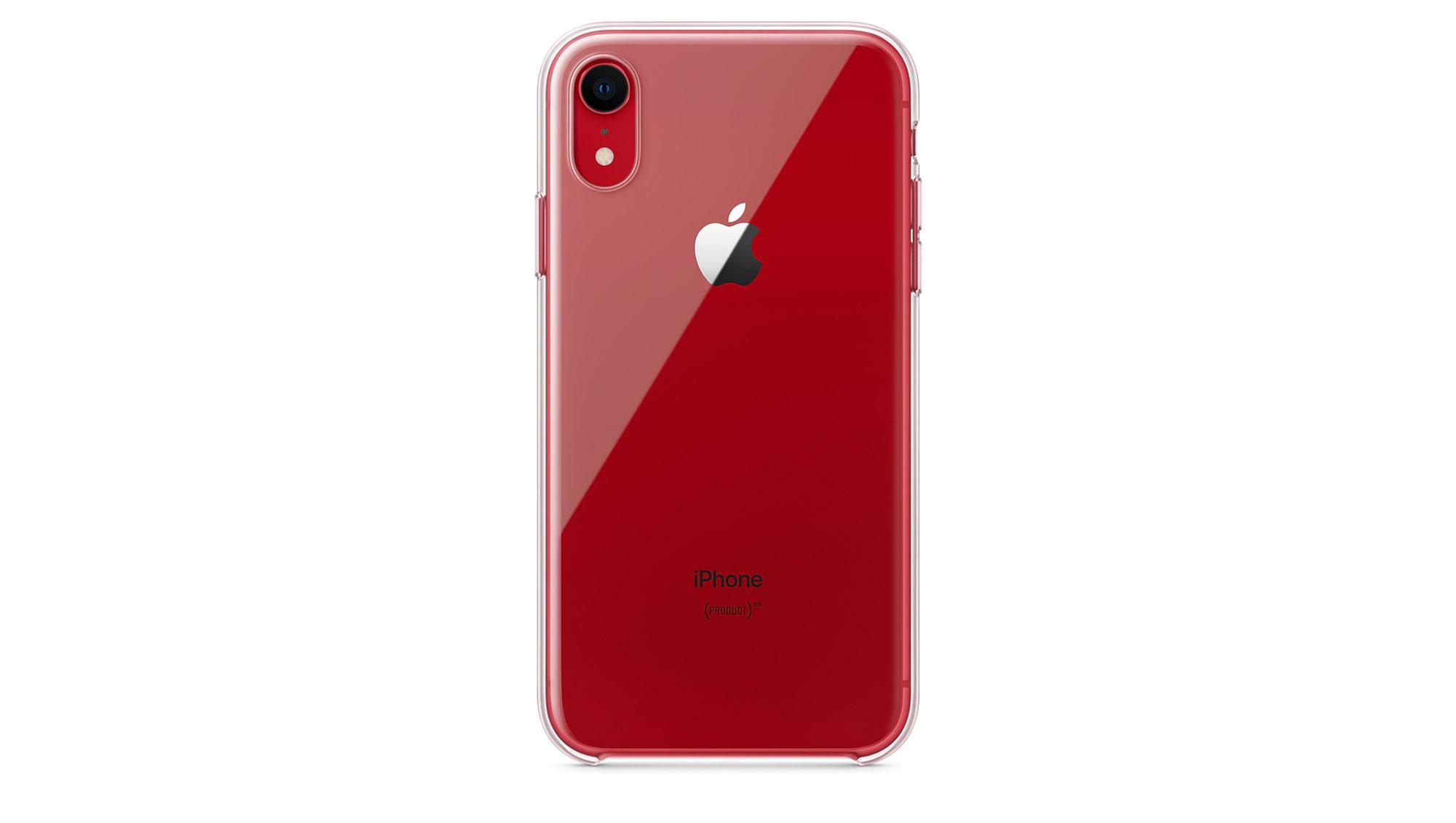 iPhone XR 官方清水保护套已上架苹果官网,完美契合多彩机身
