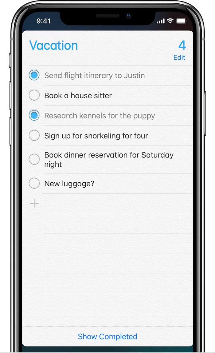 iPhone XS 如何添加提醒事项?如何在离开或到达某地时获取提醒?
