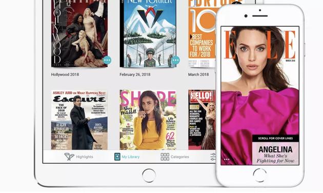 彭博社:苹果将在明年春季推出 Texture 新闻订阅服务