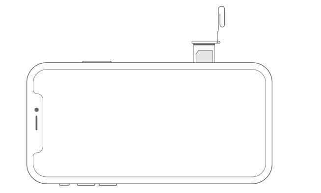 iPhone XR 显示未安装 SIM 卡解决办法教程