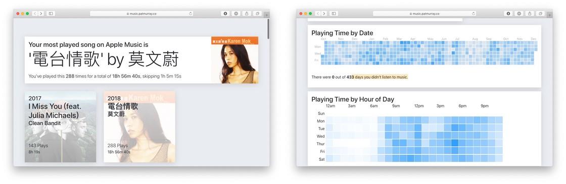 苹果实用技巧:总结 Apple Music 年度榜单的 2 种方法看看今年听了哪些歌