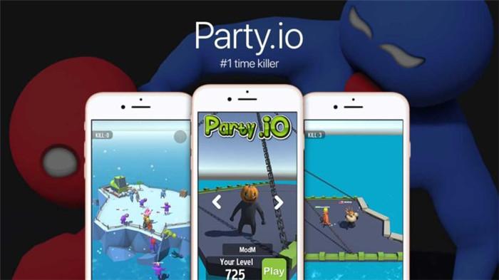 手游版《人类一败涂地》?Party.io伪联网登顶iOS免费榜