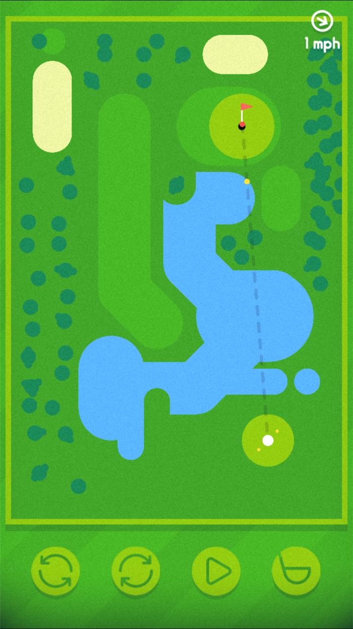 让开!我要一杆进洞! Golfing Around试玩