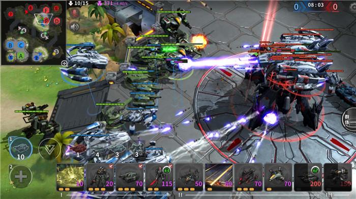 正统RTS手游 《未来风暴》1月10日开启双端测