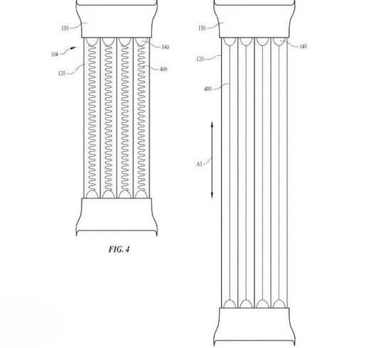 苹果申请 Apple Watch 发光表带专利:最终效果会如何?