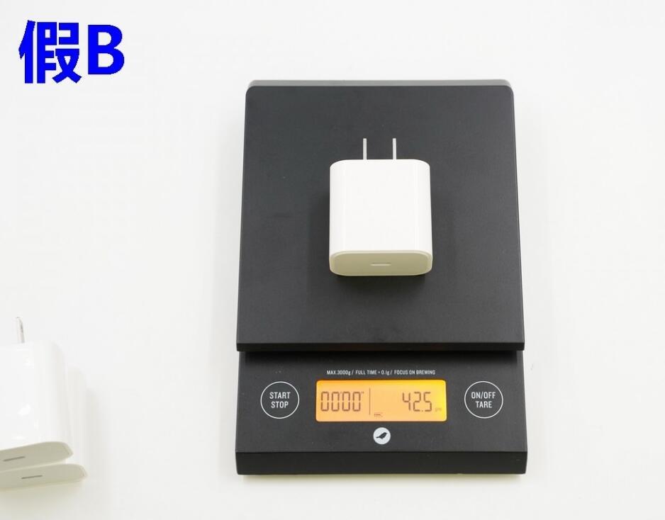 如何辨别充电器真假?苹果18W USB-C 充电器真假对比