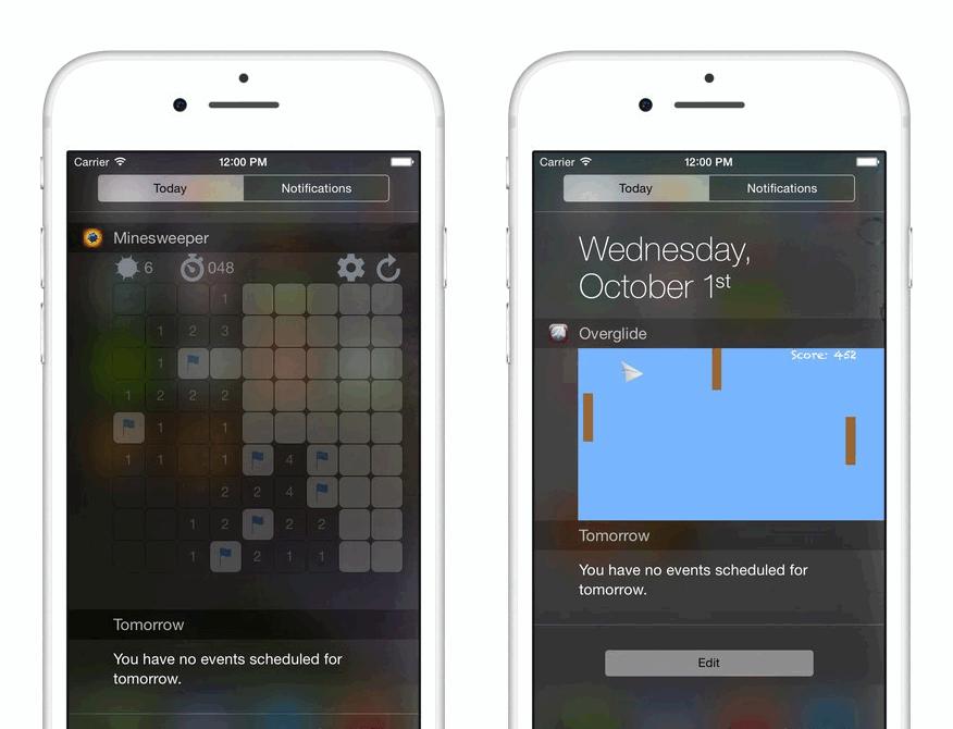 你知道吗,在 iPhone 通知栏上还可以玩游戏