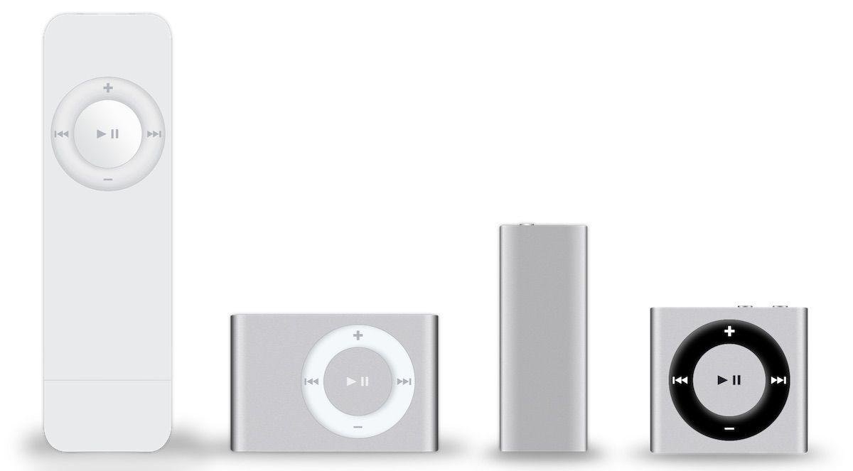 经典口香糖:14 年前苹果发布了第一代 iPod shuffle