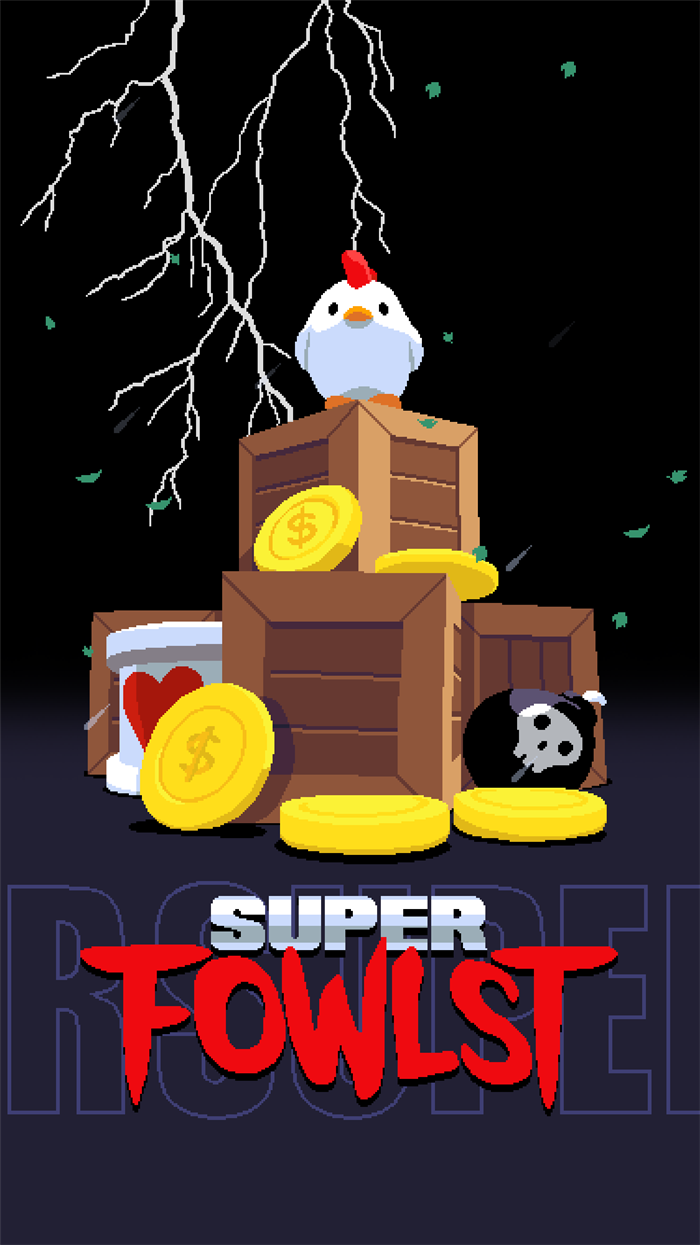 我是真鸡儿 同时我也爱金币 Super Fowlst试玩