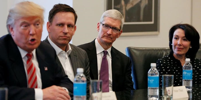 2018 年苹果共花费 660 万美元游说特朗普政府