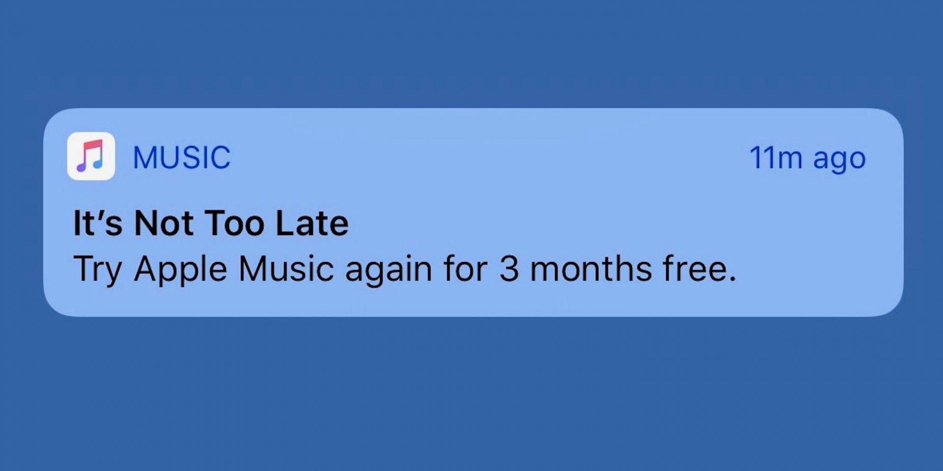 Apple Music 用户或再获3个月免费用