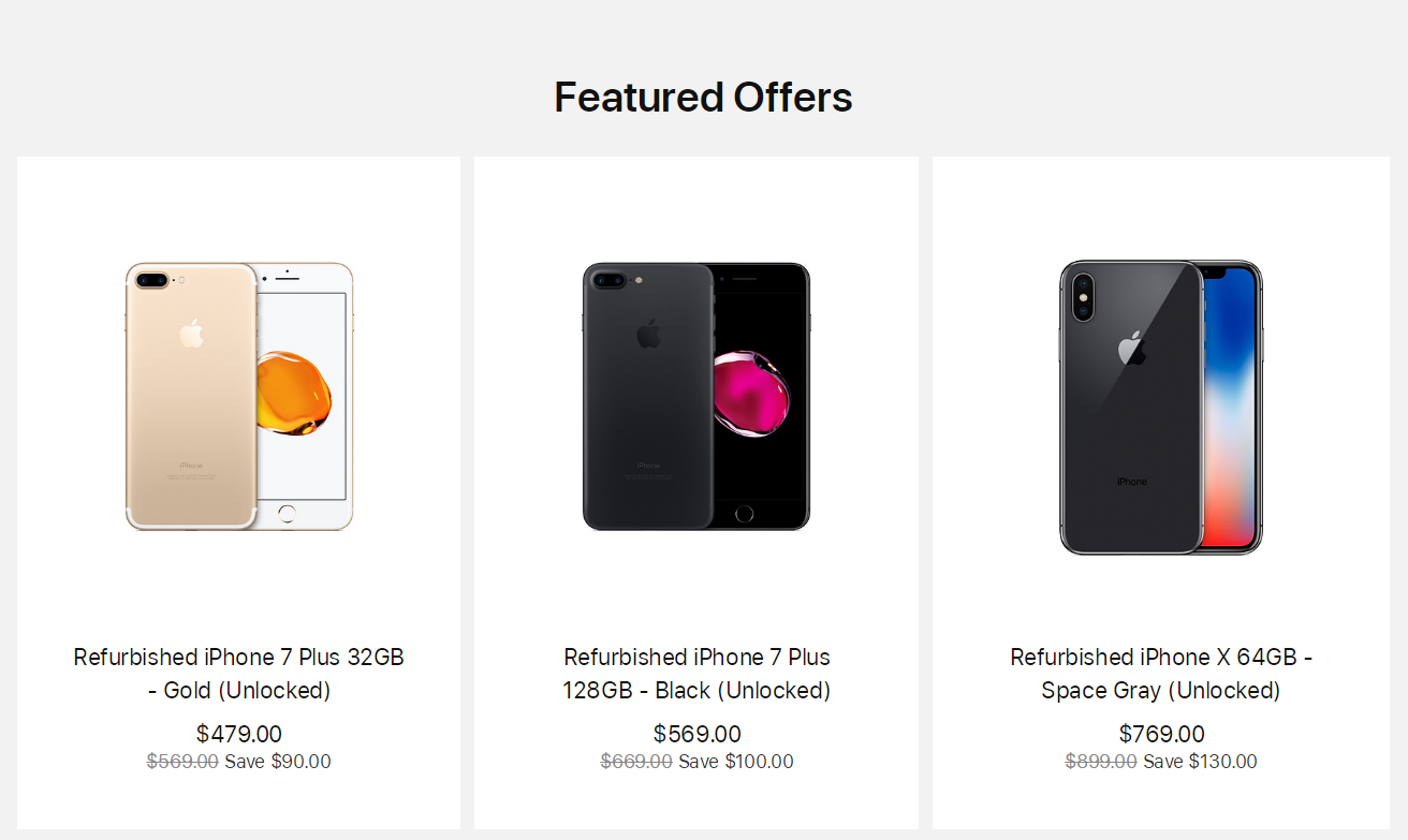 iPhone X 官翻机开卖,最高节省 150 美元