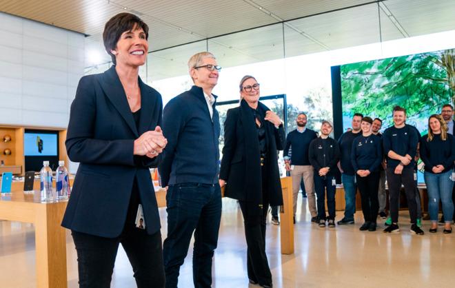 由内部晋升的 Deirdre O'Brien 即将就任苹果新的零售主管