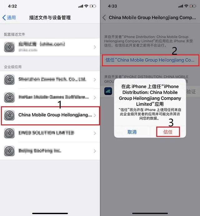 iPhone手机如何在运营商名称后加5G标识?