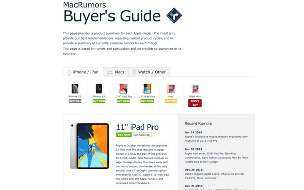 苹果产品购机工具 | 如何判断自己最适合哪款 iPhone?如何选购?
