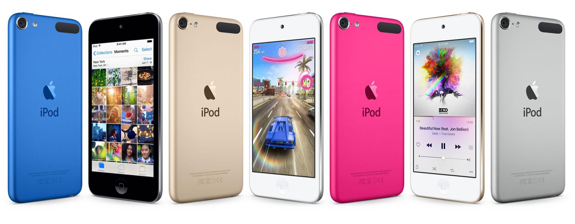 关于新款 iPod touch 的传闻汇总