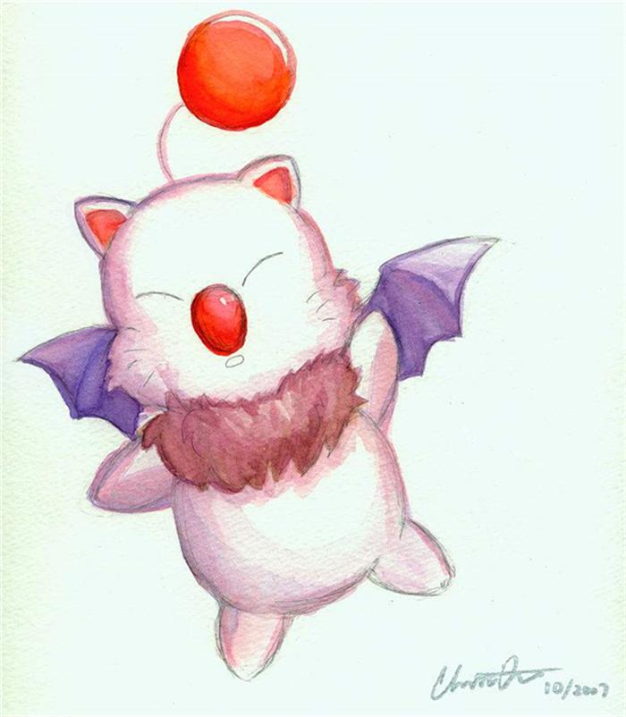 莫古力,最终幻想中的神秘小精灵