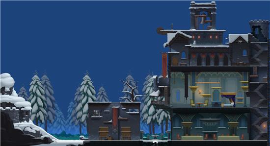 新场景雪夜古堡曝光,《猫和老鼠》技术测试今日开启