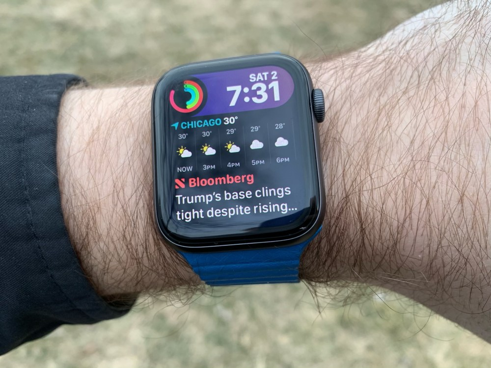 watchOS 6 概念图欣赏:全新 Siri 表盘、睡眠追踪