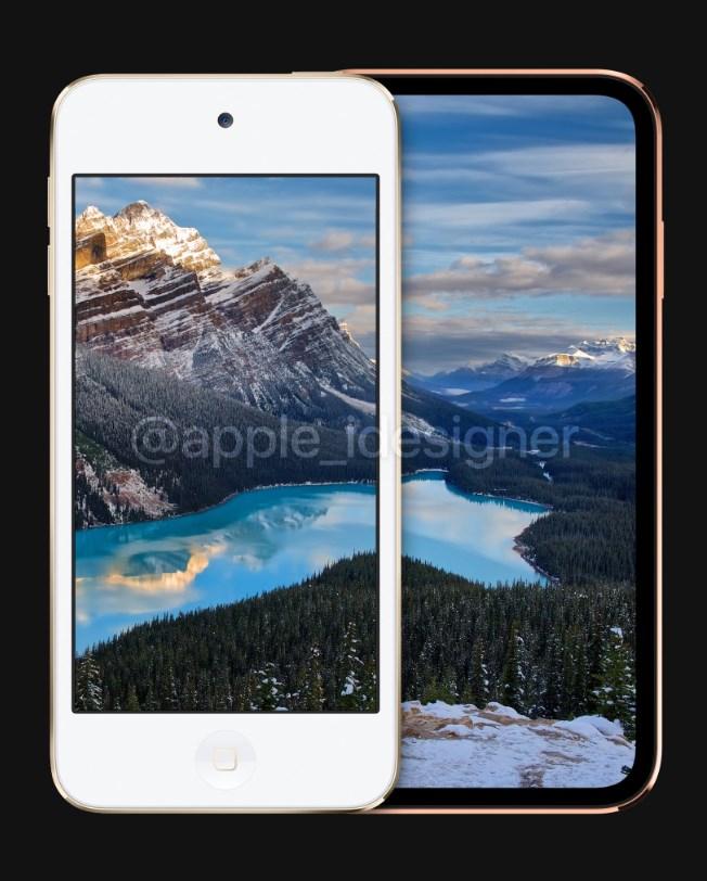 苹果 iOS 固件疑似曝光 iPod Touch 7:无刘海全面屏