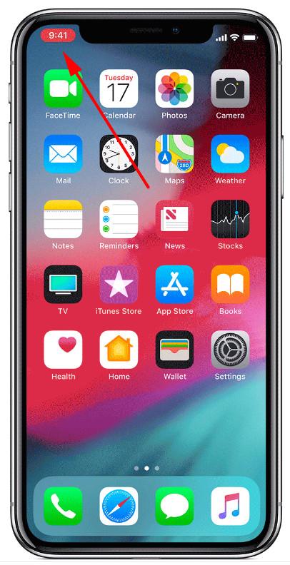 如何去除 iPhone 录屏时顶部出现的红条?