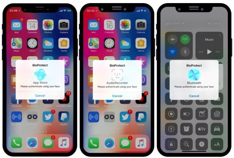 如何给 iPhone 软件单独设置密码?