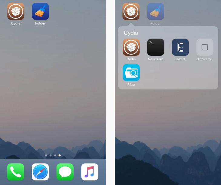 如何隐藏 iPhone 桌面的图标?