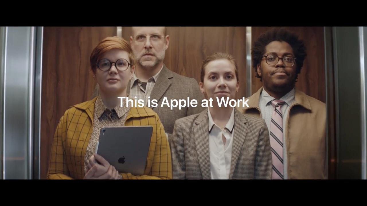 苹果发布「Apple at Work」全新广告,宣传其产品的实际应用能力