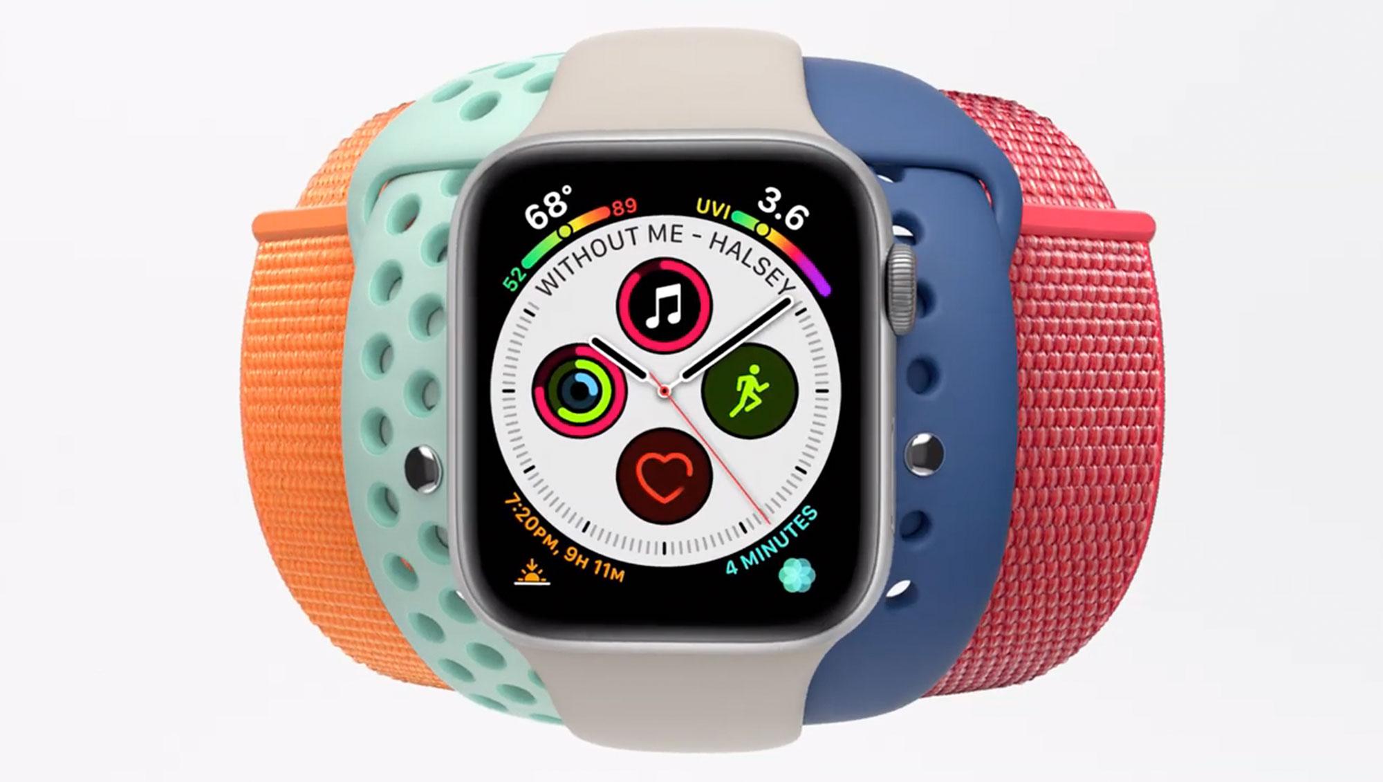 苹果分享 Apple Watch 全新广告,宣传多彩表带