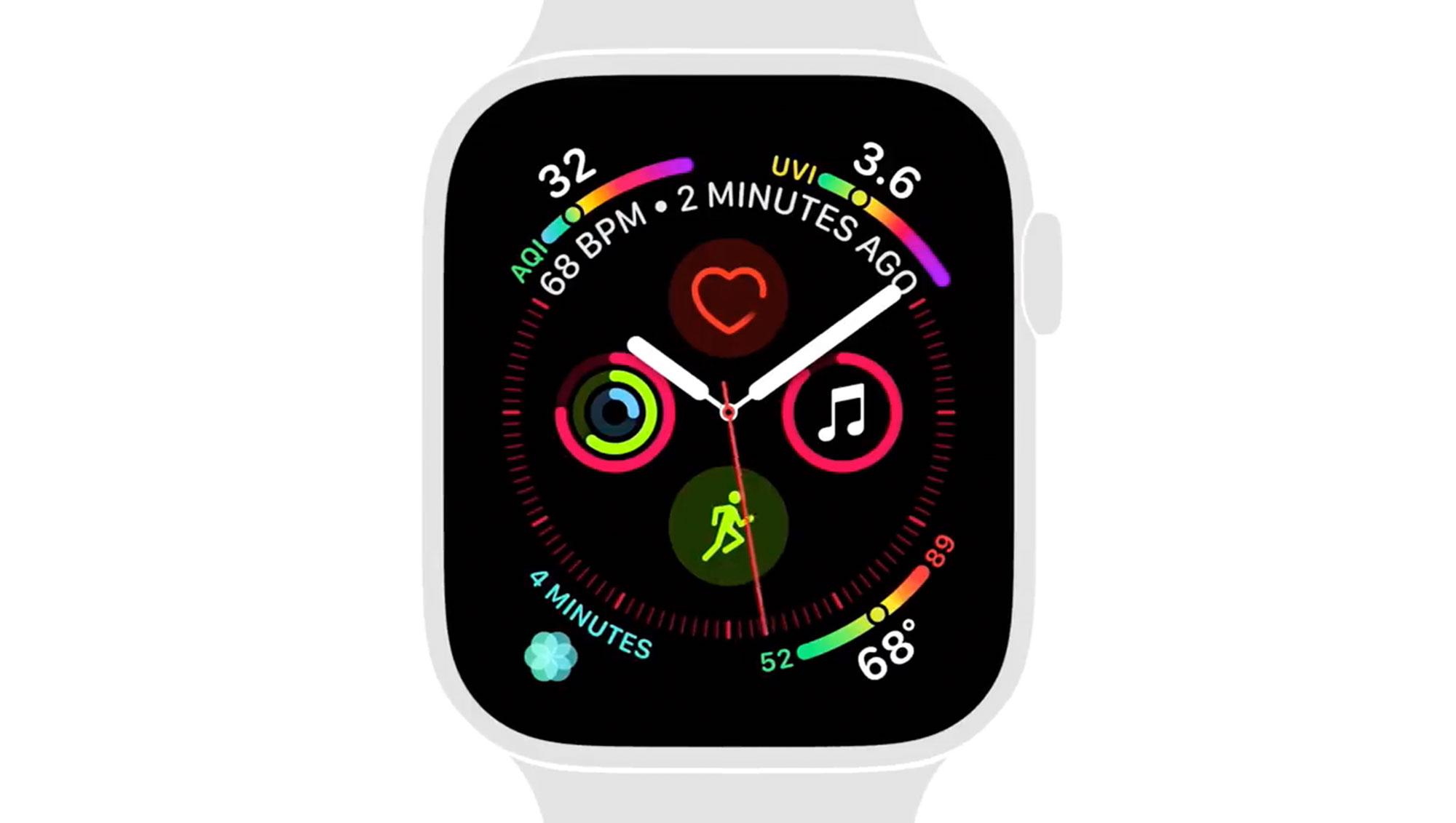 苹果分享两段 Apple Watch Series 4 教程视频,着重宣传健康功能